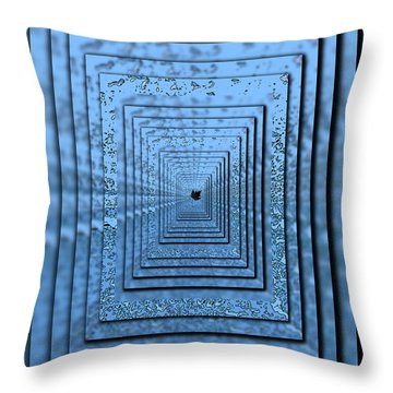 In The Eye Of The Storm 5 Throw Pillow by Tim Allen