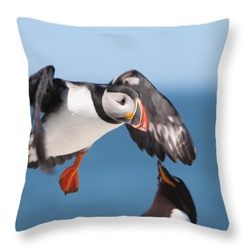 Incoming  Throw Pillow by Bruce J Robinson
