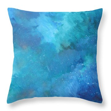 Infinity Throw Pillow by John Keaton