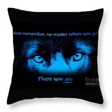 Inner Self Throw Pillow by Smilin Eyes  Treasures