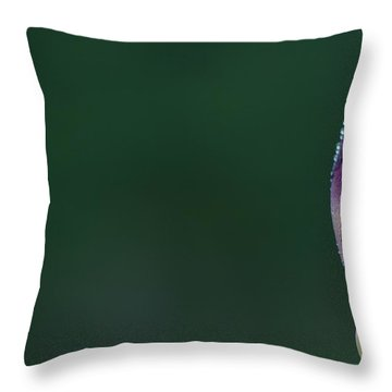 Iris 8 Throw Pillow by Nathan Larson