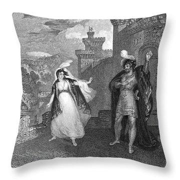 Ivanhoe, 1832 Throw Pillow by Granger