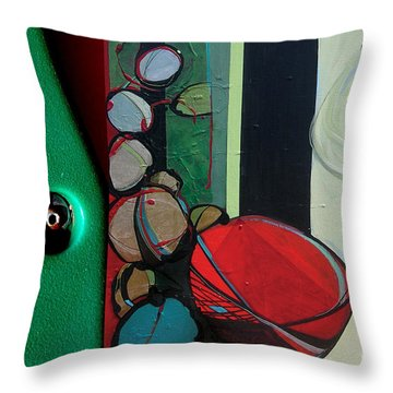 J Hotography 3 Throw Pillow by Marlene Burns