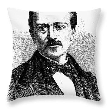 Jean Joseph Etienne Lenoir Throw Pillow by Granger