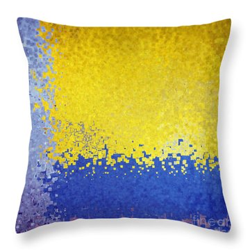 Jesus Christ The Just One Throw Pillow by Mark Lawrence