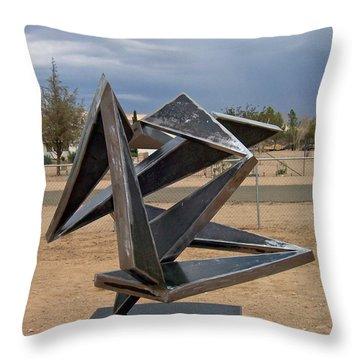 Jitterbug Throw Pillow by John Neumann
