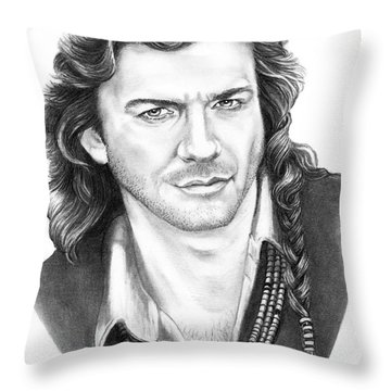 Joe lando throw pillow by murphy elliott