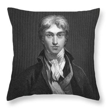 Joseph Turner (1775-1851) Throw Pillow by Granger