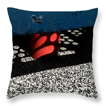 Jungle Gym 14 Throw Pillow by Marlene Burns