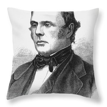 Justo Jose De Urquiza Throw Pillow by Granger