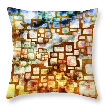 Knowledge Is Not Wisdom 1 Throw Pillow by Angelina Vick