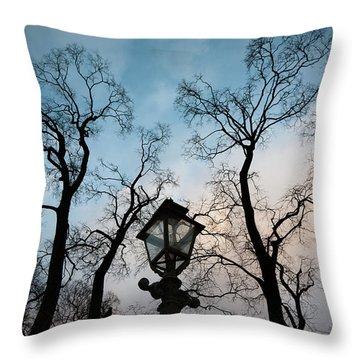 Lantern Throw Pillow by Konstantin Dikovsky