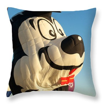 Lepew Throw Pillow by Mark Dodd