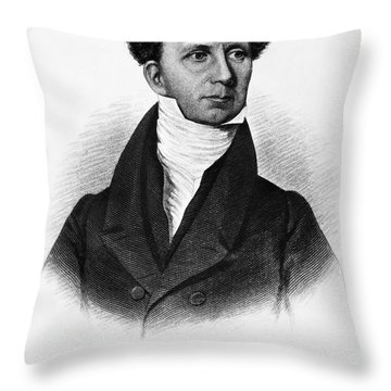 Levi Lincoln (1749-1820) Throw Pillow by Granger