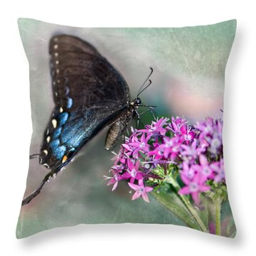 Life Is Sweet Throw Pillow by Betty LaRue