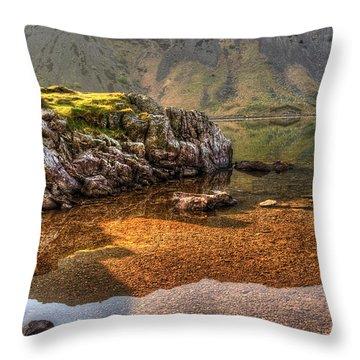 Little Island  Throw Pillow by Svetlana Sewell