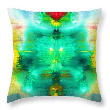 Living Form Throw Pillow by Sumit Mehndiratta