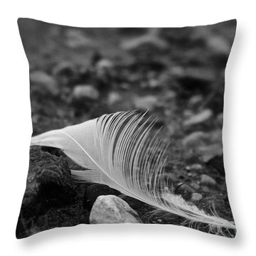 Loner Throw Pillow by Susan Herber