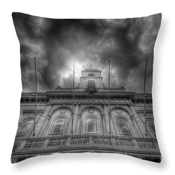 Loughborough Town Hall Throw Pillow by Yhun Suarez