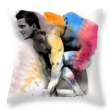 Love Colors - 2 Throw Pillow by Mark Ashkenazi