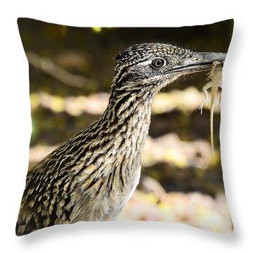Lunch Anyone Throw Pillow by Saija  Lehtonen