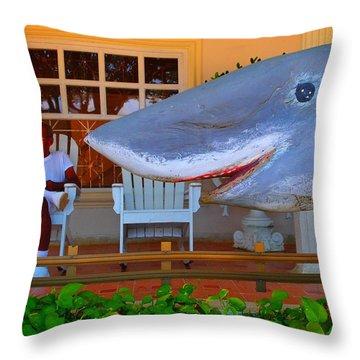 Mack De Cuchillo Throw Pillow by Skip Hunt