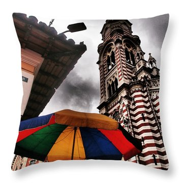 Magdalena Throw Pillow by Skip Hunt