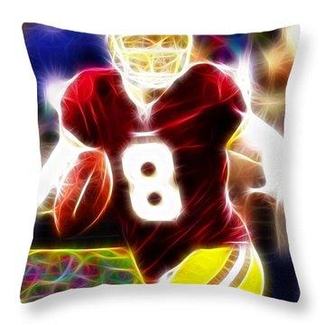 Magical Rex Grossman Throw Pillow by Paul Van Scott