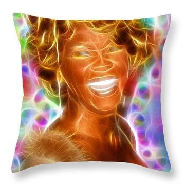 Magical Whitney Throw Pillow by Paul Van Scott