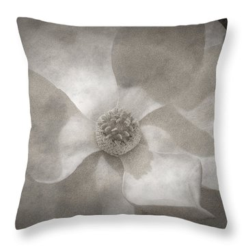 Magnolia 3 Throw Pillow by Rich Franco
