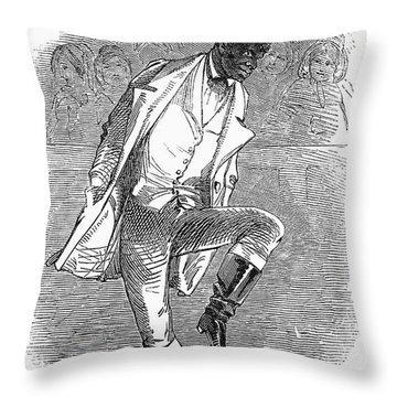 Master Juba (c1825-c1852) Throw Pillow by Granger