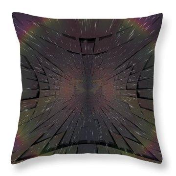 Matrix Throw Pillow by Tim Allen