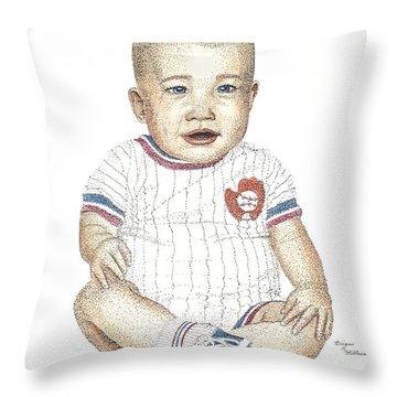 Matthew Throw Pillow by Brian Wallace
