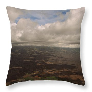 Maui Beneath The Clouds Throw Pillow by Paulette B Wright