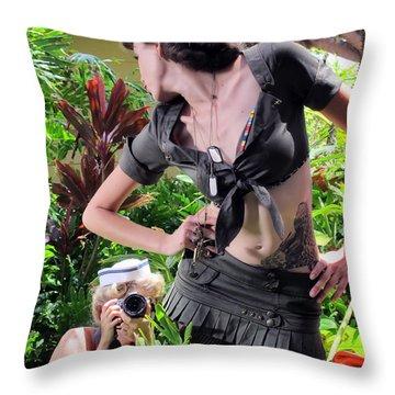 Maui Photo Festival 4 Throw Pillow by Dawn Eshelman