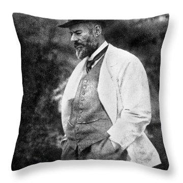 Max Weber 1864-1920 Throw Pillow by Granger