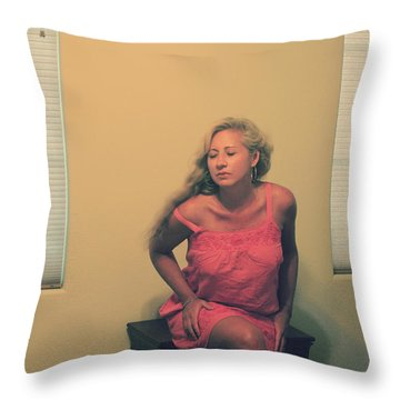 Memory Takes Over Throw Pillow by Laurie Search