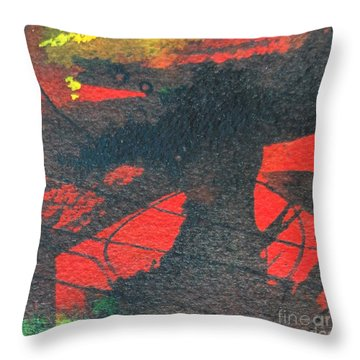 Mindscape 4 Throw Pillow by Ana Maria Edulescu