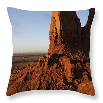 Monument Valley High-lites Throw Pillow by Mike McGlothlen