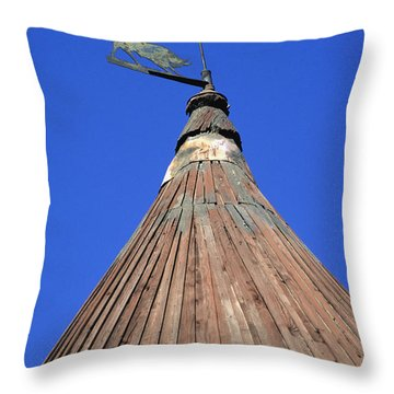 Moulin De Daudet. Fontvieille. Provence Throw Pillow by Bernard Jaubert