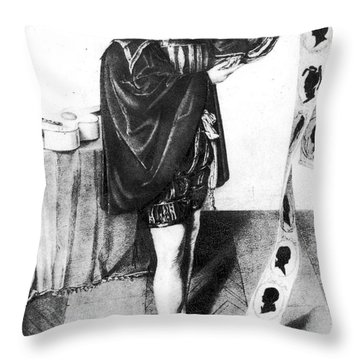 Mozart: Don Giovanni Throw Pillow by Granger