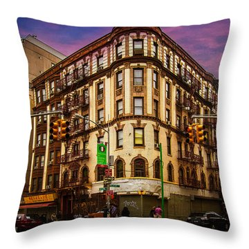 Mulberry And Broome Throw Pillow by Chris Lord