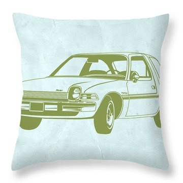 My Favorite Car  Throw Pillow by Naxart Studio