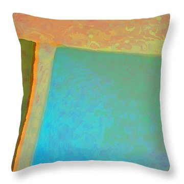 Throw Pillow featuring the digital art My Love by Richard Laeton