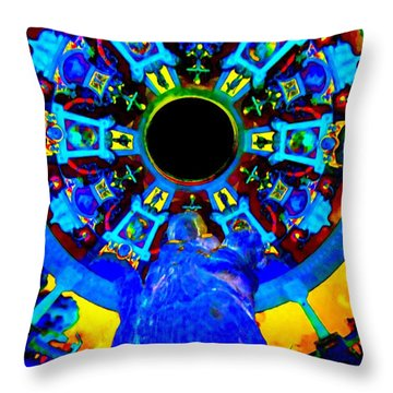 My Vegas Caesars 21 Throw Pillow by Randall Weidner