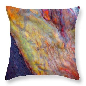 Throw Pillow featuring the digital art Mystics Of The Night by Richard Laeton