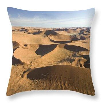 Namib Desert Throw Pillow by Namib Desert