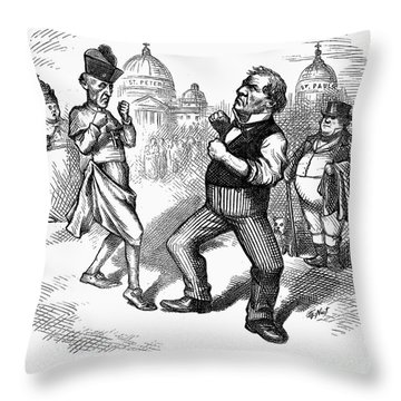 Nast: Papal Infallibility Throw Pillow by Granger