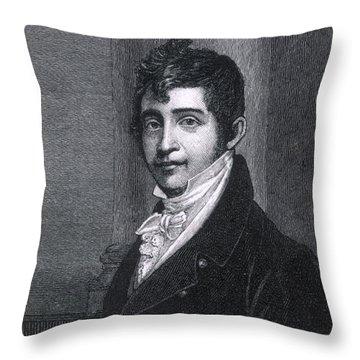 Nathan Appleton (1779-1861) Throw Pillow by Granger