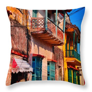 Negocio Throw Pillow by Skip Hunt